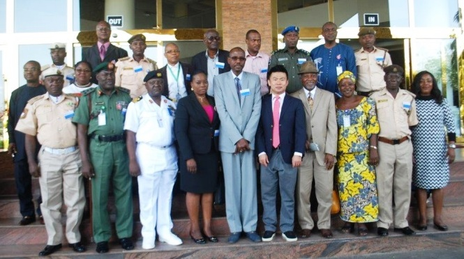 Nigeria : photo de groupe