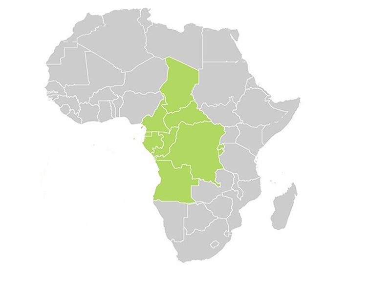 map africa central1