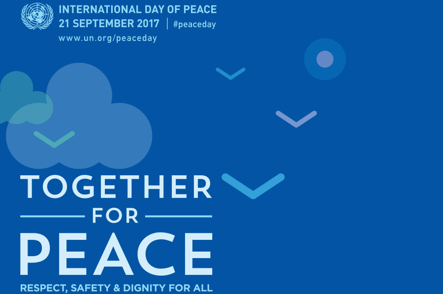 Message for the 100-day countdown to the International Day of Peace