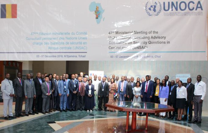 ECCAS, UNOCA and UNREC launched a joint project for the implementation of the Kinshasa Convention on Small Arms in Central Africa.