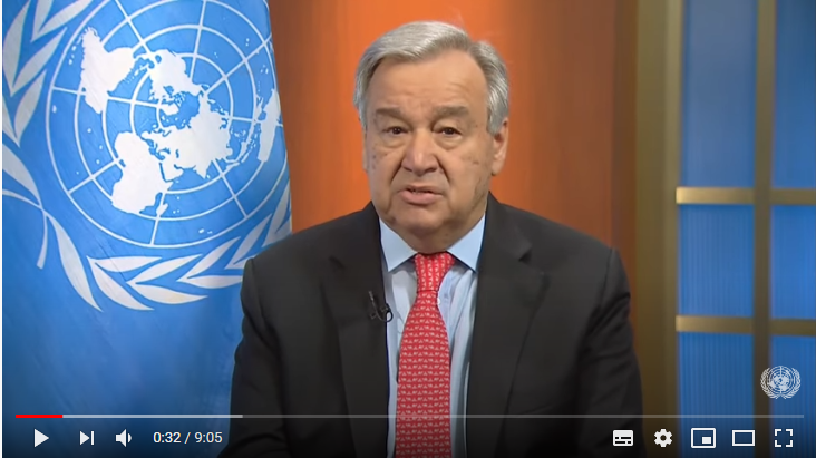 Calling for immediate global ceasefire - UN chief on COVID-19