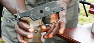 Togolese pistol with new ECOWAS markings(2012-03-15)